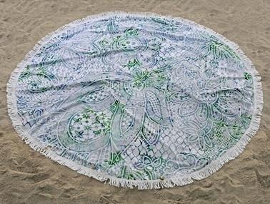 İrya Home More Rıta Plaj Havlusu Renkli